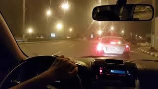 Midnight Makkah city / Hangout with Daihatsu Terios / Saudi Arabia