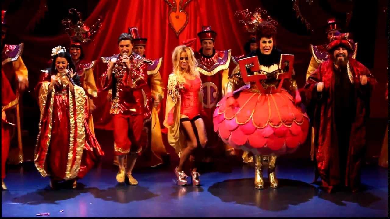 Image result for Pamela Anderson pantomime