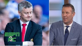 "Craig Burley says it was no real shock that Manchester United lost to Everton after their string of losses recently, but the way they lost was ""absolutely abysmal."