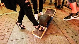 High Heels on a Hover Board