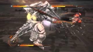 GODZILLA PS4 versus mode: SuperMechaGodzilla vs. Battra (adult)  vs. Burning Godzilla 90's