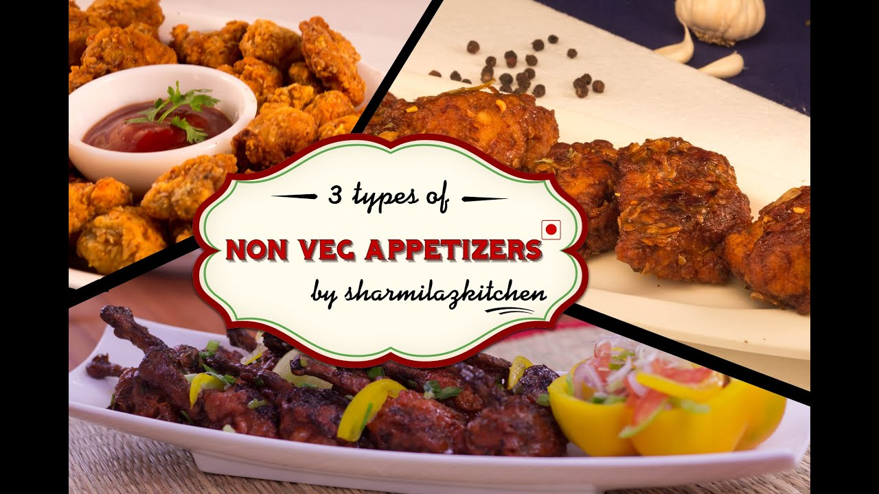 Ideas For Easy Starters For Dinner Party Part - 25: Non-Veg Party Appetizers / Starters Recipe By Sharmilazkitchen | Easy To  Make Recipes - YouTube