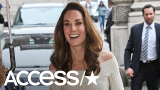 Kate Middleton Dazzles In Off-The-Shoulder Dress At Action On Addiction Charity Gala | Access