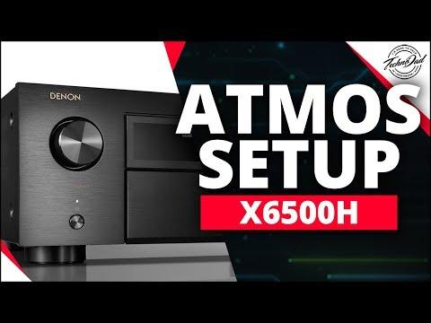 Denon AVR-X6500H Unboxing & Dolby Atmos/DTS:X/Auro-3D/IMAX Enhanced Setup