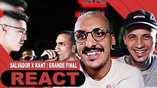 Salvador x Kant | GRANDE FINAL | Batalha da Aldeia [React]