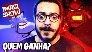 POR QUE O JAFAR É MAIS PODEROSO QUE O GÊNIO? - IMAGISHOW #8