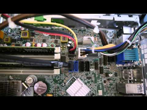 HP Z220 Workstation SFF inside - YouTube