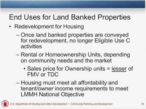 What Now? Series - Webinar 3: Land Banking and NSP Strategies and Actions - 4/10/12