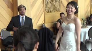Michelle + Harrison ~~ Indianapolis Zoo & White River Gardens Wedding ~~