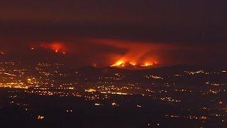 Cinco grandes fogos ativos em Portugal
