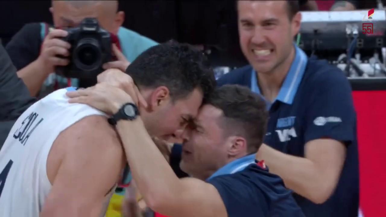Argentina - France 80-66 SEMIFINAL