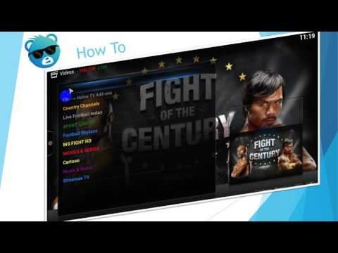 How To Install Halow (Country TV Channels)Addon On XBMC   KODI   IPTV