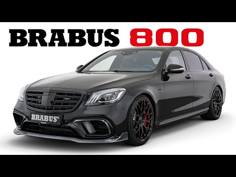 BRABUS 800 Based On Mercedes-AMG S 63