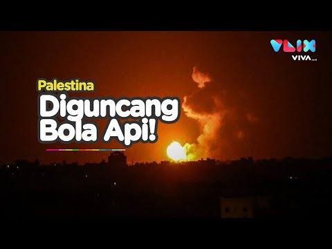 Rudal Jet Tempur Israel Gempur Jalur Gaza!