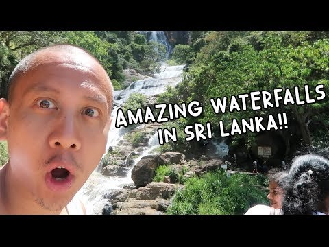 INCREDIBLE WATERFALLS IN SRI LANKA | Vlog #109