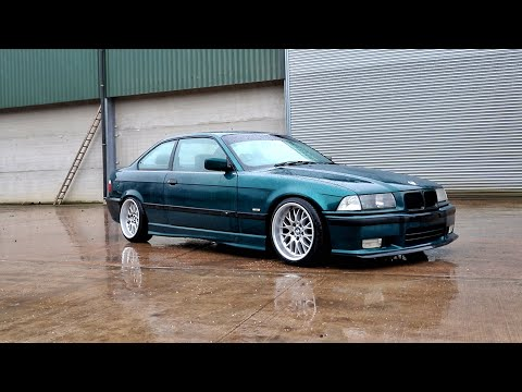 The BMW E36 Gets New Wheels!