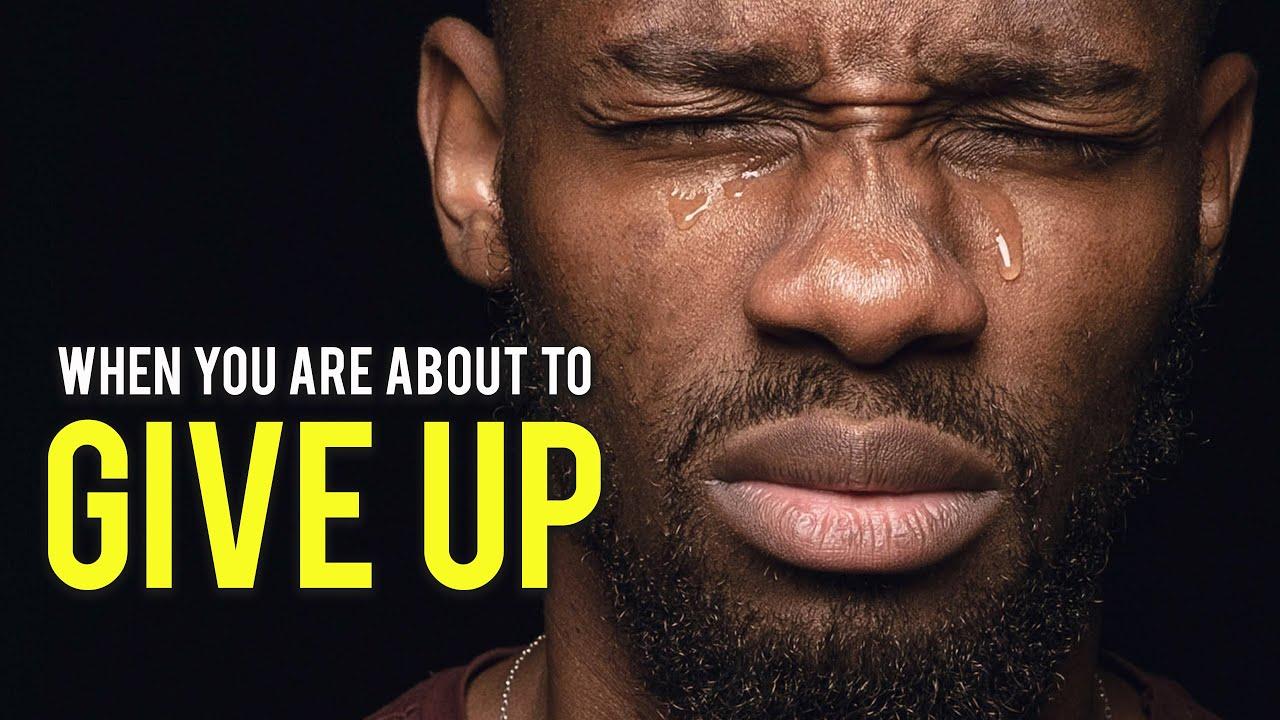 When You Feel Like Quitting – Motivational Speech