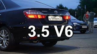Toyota Camry 3.5 (249 л.с.) против всех: едет или только пыхтит?