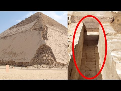 New Ancient Egyptian Pyramid Remains Found in Egypt 2017 - Evidence of Lost High Technology