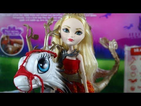 Обзор на Эппл Вайт с Драконом*Игра Драконов-Apple White*Dragon Games