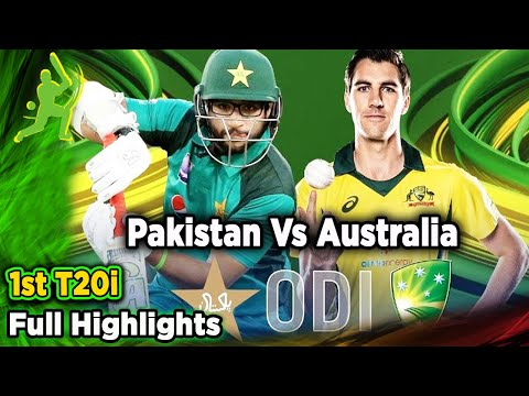 Pakistan Vs Australia | 1st ODI | Full Highlights | PCB