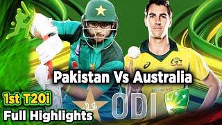 Pakistan Vs Australia | 1st ODI | Full Highlights | PCB