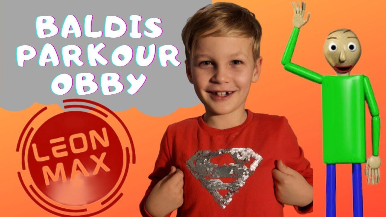 Astazi jucam Baldis Basics Parkour Obby!!!Super episod!??e 3