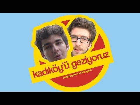 KADIKÖY'Ü GEZİYORUZ!!!