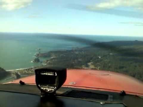 Flying over Trinidad