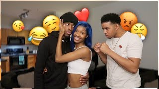 I FLIRTED With My Brother Girlfriend To See How He Would React *prank*