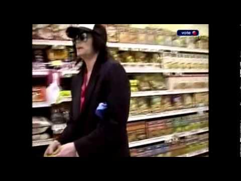 Michael Jackson supermarket (hd)