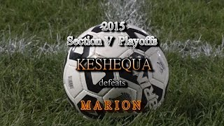 2015 Section V - Playoff Game