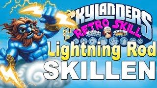 Skylanders Retro Skill - Lightning Rod Skillen auf Herr der Blitze-Weg Skylanders Deutsch/German