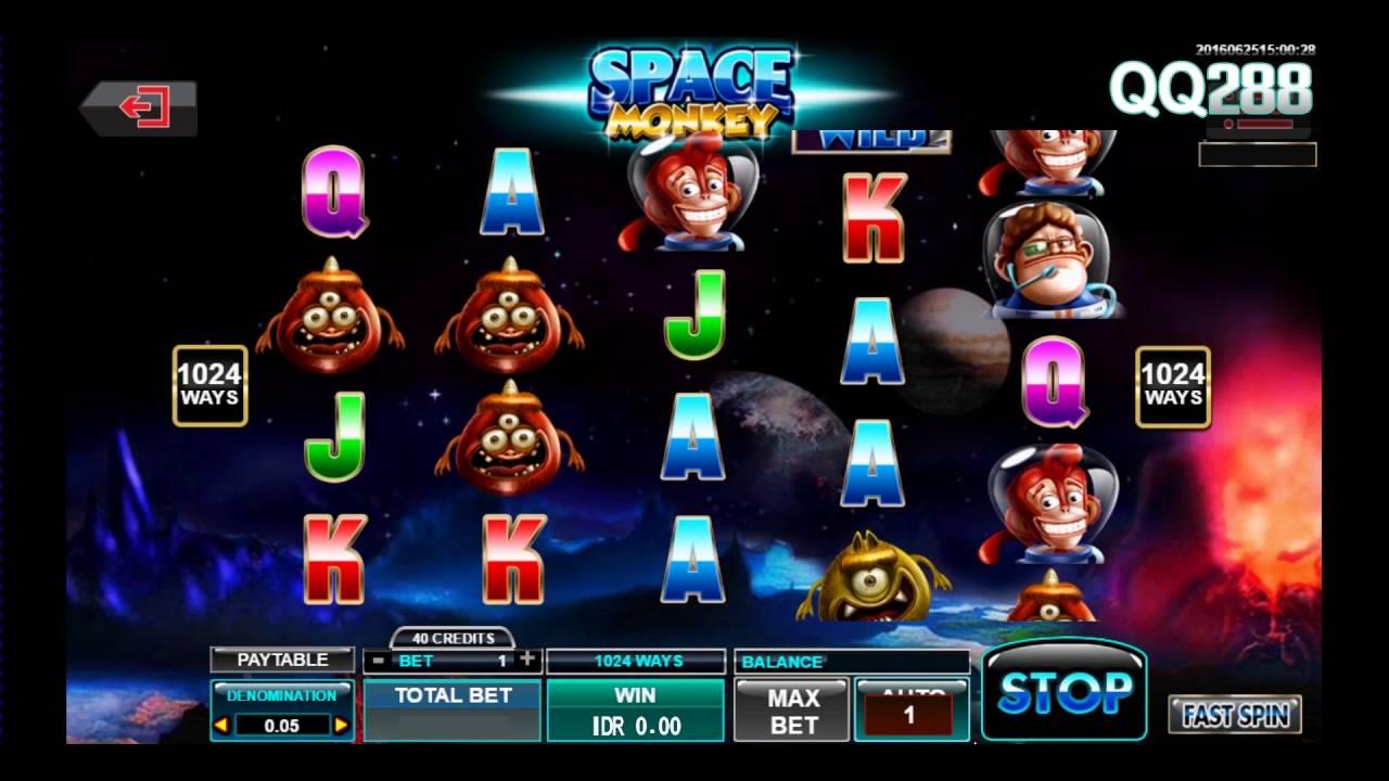 Spade Gaming - Space Monkey - Slot Mesin Jackpot - QQ288 ...