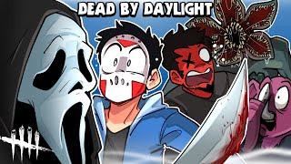 Dead By Daylight -  CARTOONZ IS PLAYING DBD?!!! (And my first time seeing GHOSTFACE!)
