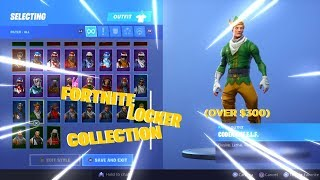 *OVER $300* Fortnite Locker Collection (black knight, codename elf, etc)