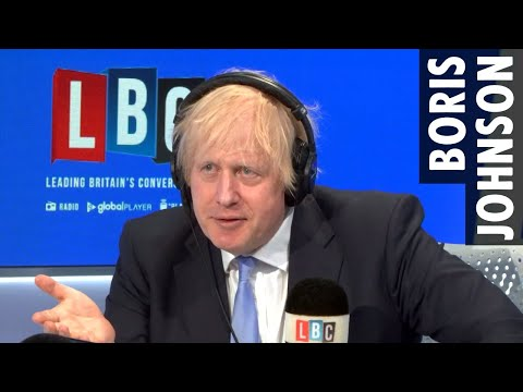 Boris Johnson comments on Extinction Rebellion's upcoming September protests | LBC Radio