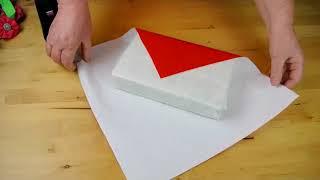 DIY Geschenkverpackung : Geschenkpapier zu klein ? So klappt es trotzem mit der Verpackung !