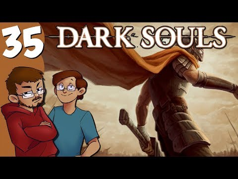 Let's Play | Dark Souls - Part 35 - Draining the Swamp and Ghost Hunting