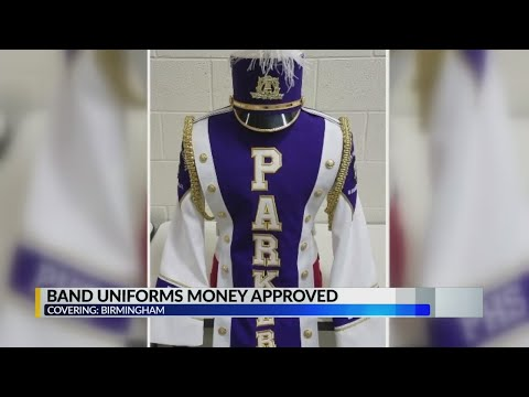 Band Uniforms Money Approved