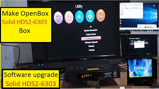 Make Open BOX Solid HDS2 6303
