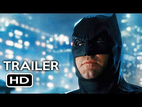 Justice League Official Comic Con Trailer (2017) Gal Gadot, Ben Affleck Action Movie HD