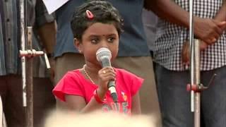 Three Year-Old Girl Sings Balikudeerangale
