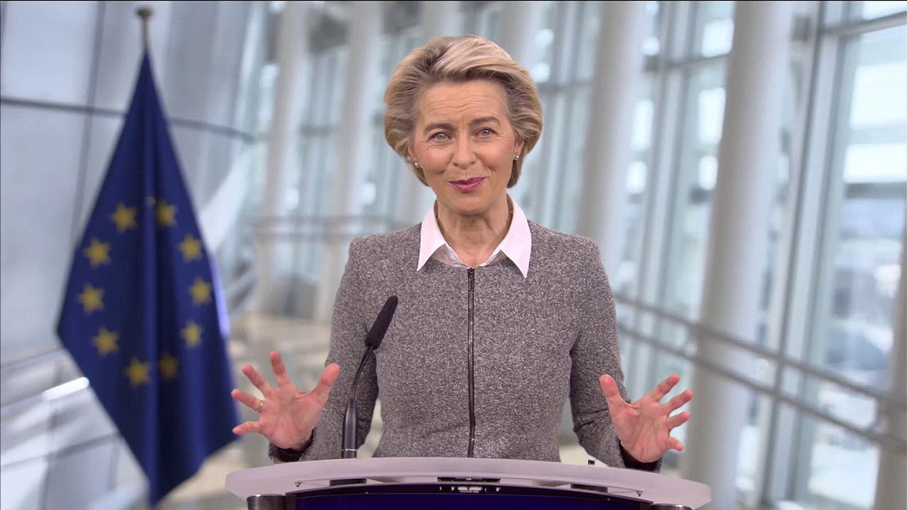 Special video message by President von der Leyen to the Riga Conference 2020