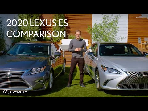 2020 lexus es with townsend bell side by side comparison 2020 vs 2017 lexus youtube 2020 lexus es with townsend bell side