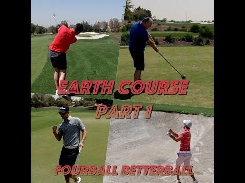 Dubai World Tour Championship Vlog | Earth Course Part 1