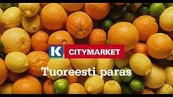 K-Citymarket on tuoreesti paras!