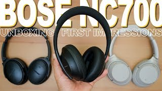 Bose NC 700 Unboxing And First Impressions