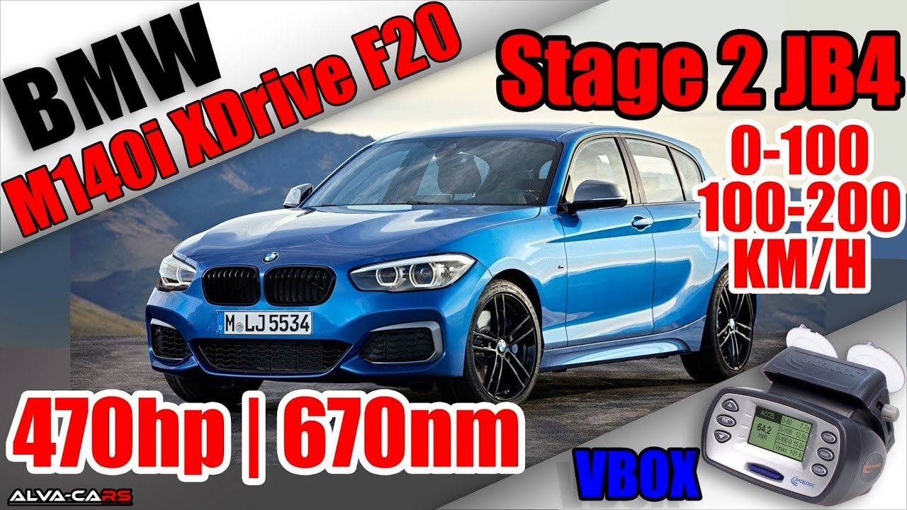 bmw m140i xdrive 470hp 670nm stage 2 jb4 launch control 0 100 100 200km h vbox youtube. Black Bedroom Furniture Sets. Home Design Ideas