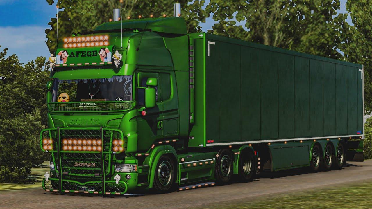 Scania RJL Modifiyesi | Euro Truck Simulator 2 | 1.40